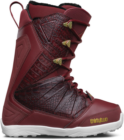 Thirty Two Womens Lashed Snowboard Boots - Burgundy