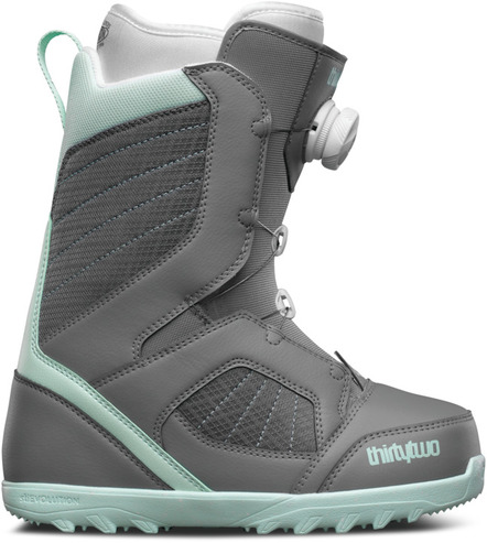 Thirty Two Womens STW Boa Boot - Grey
