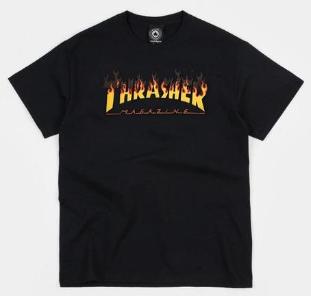 Thrasher BBQ T-Shirt - Black