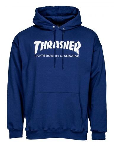 Thrasher Mag Logo Hood - Navy