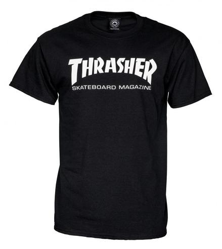 Thrasher Mag T-Shirt - Black