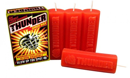 THUNDER SPEED WAX RED