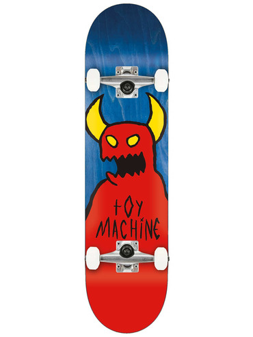 TOY MACHINE SKETCHY MONSTER COMPLETE SKATEBOARD - 8.0