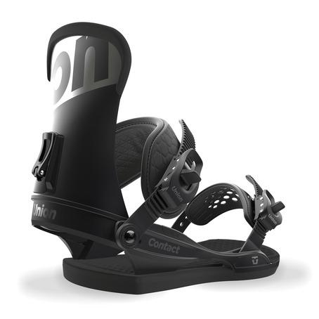 Union Contact Snowboard Bindings - Black