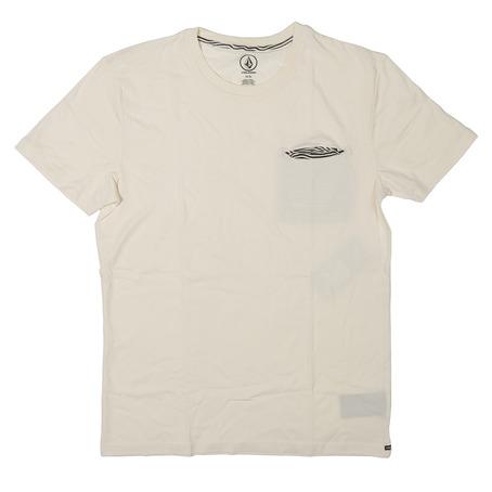 Volcom Arco Pocket T-Shirt - Egg White