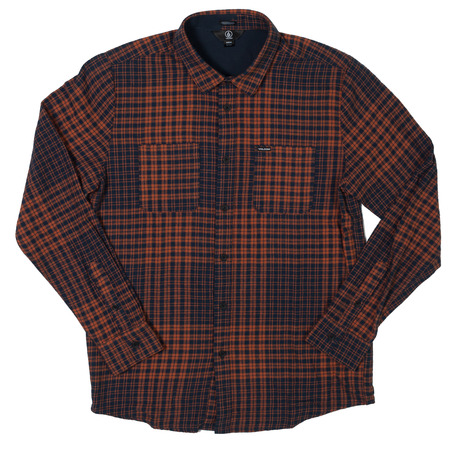 Volcom Bolden Shirt - Papaya