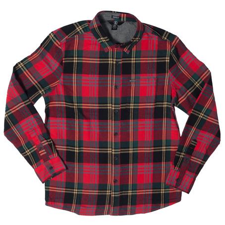 Volcom Caden Shirt - True Red