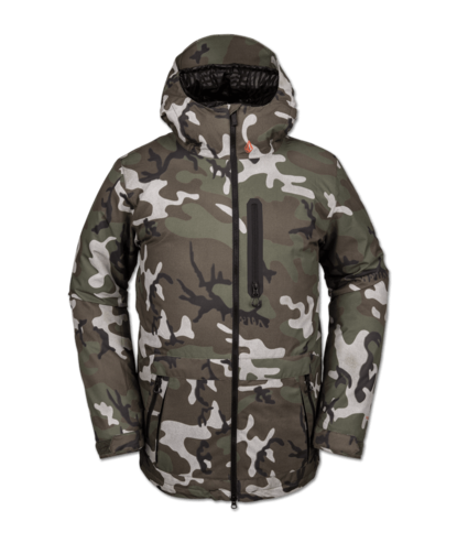 Volcom Deadly Stones Insulated Jacket - GI Camo