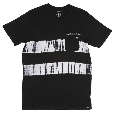 Volcom Die Stripe T-Shirt - Black