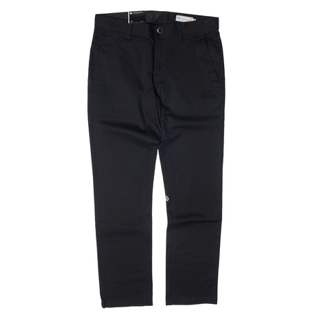 Volcom Frickin Modern Stretch Pant - Black