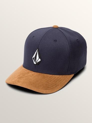 VOLCOM FULL STONE HEATHER XFIT CAP - MIDNIGHT BLUE