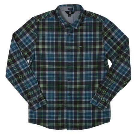 Volcom Hayden Shirt - Smoke Blue