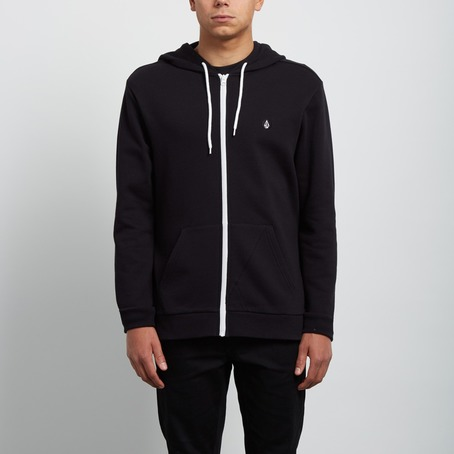Volcom Iconic Zip Hood - Black