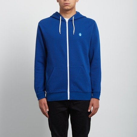 Volcom Iconic Zip Hood - Blue