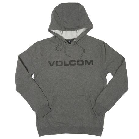 Volcom Impact Hooded Sweat - Dark Grey