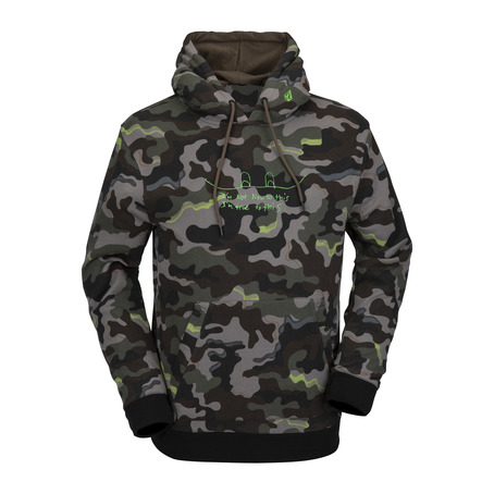 Volcom JLA Fleece Hood - Army