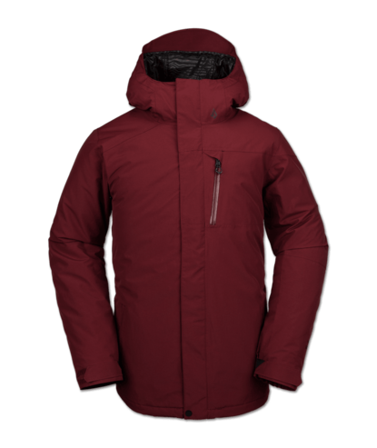 Volcom L Insulated Gore-Tex Jacket - Burnt Red