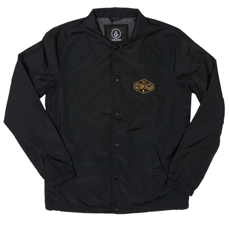 Volcom Recall Coach Jacket - Black