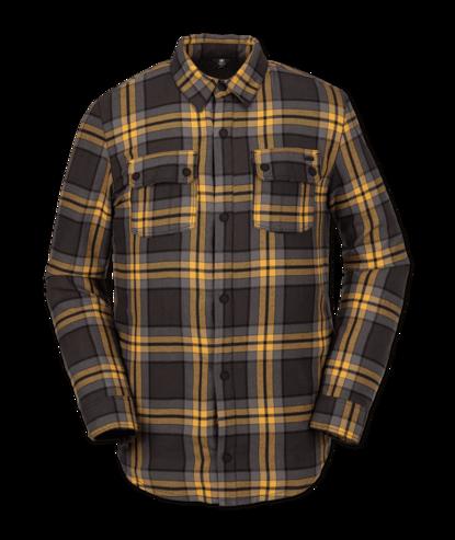 Volcom Sherpa Flannel Jacket - Vintage Black