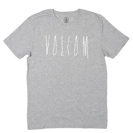 Volcom Smear T-Shirt - Heather Grey