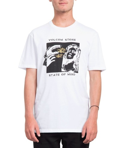 VOLCOM STATE OF MIND T-SHIRT - WHITE