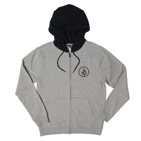 Volcom Stone Zip Hood - Grey