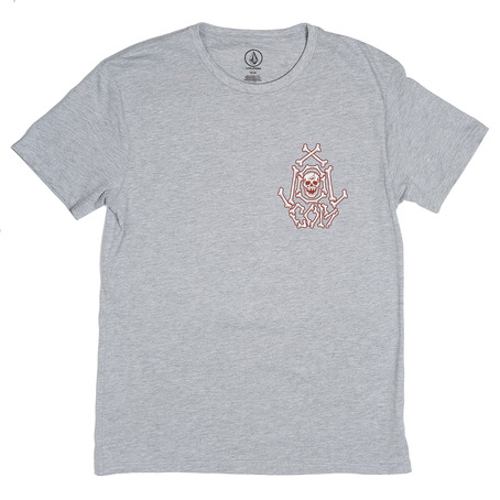 Volcom Tallboy T-Shirt - Heather Grey