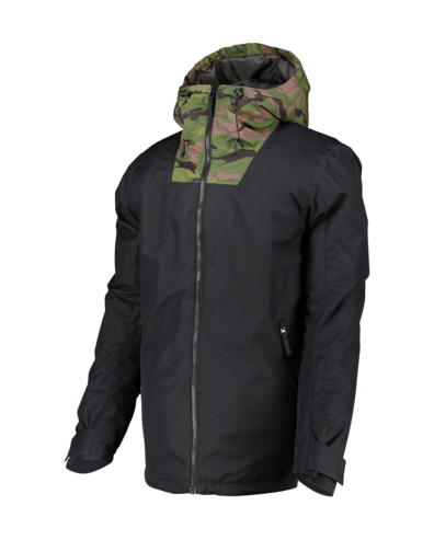 Wear Colour Block Jacket - Black