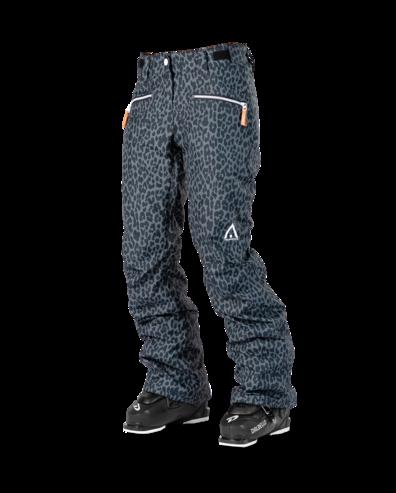 Wear Colour Cork Pant - Black Leopard