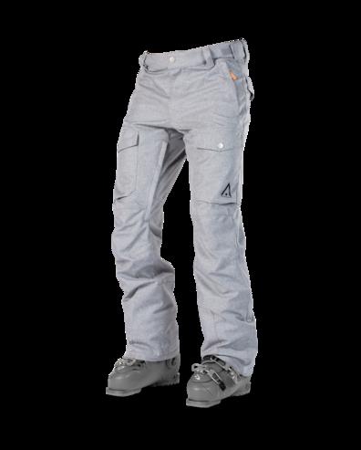 Wear Colour Shadow Pant - Grey Melange