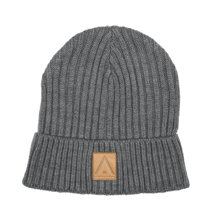 Wear Colour Badge Beanie - Grey