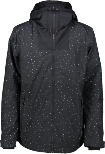 Wear Colour Black Jacket - Black Galaxy