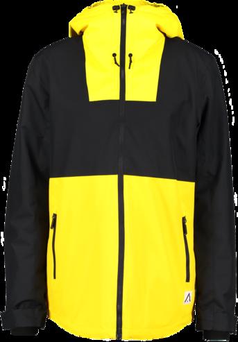 Wear Colour Black Jacket - Old Gold