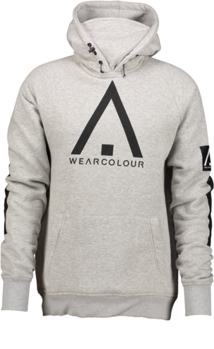 Wear Colour Bowl Hood - Grey