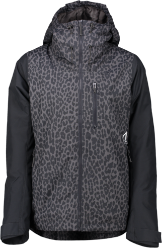 Wear Colour Cake Jacket - Black Leopard