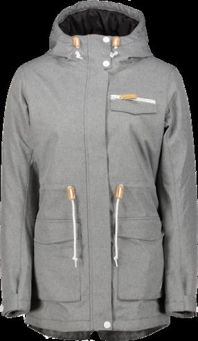 Wear Colour State Parka - Grey Melange