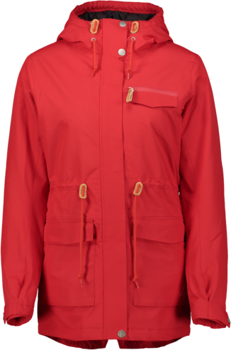 Wear Colour State Parka - Red