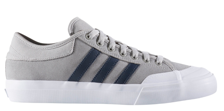 adidas matchcourt. adidas matchcourt - solid grey/collegiate navy/white thumbnail