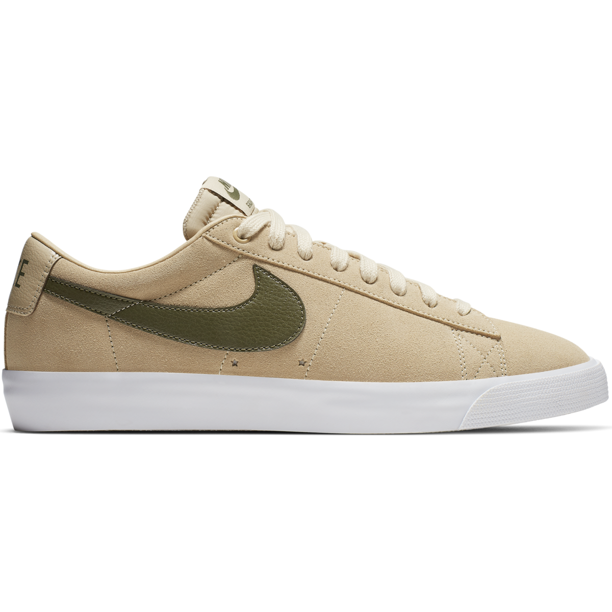 online retailer f9ea0 1b49a Nike SB Blazer Low GT - Desert Ore/Medium Olive