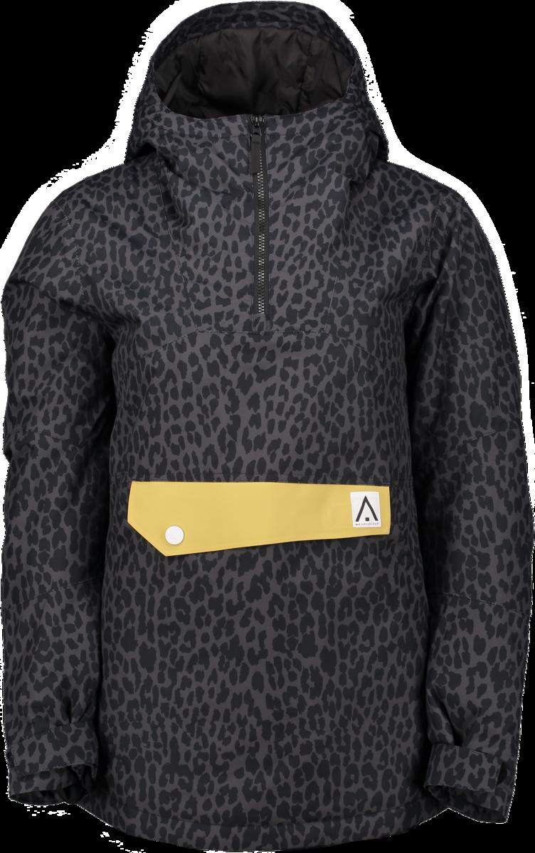 Wear Colour Homage Anorak - Black Leopard  4c2be99e1d