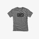 100% Essential T-Shirt - Gunmetal Heather Thumbnail