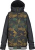 Burton Game Day Kids Jacket - True Black/Hickory Camo Thumbnail