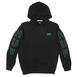 Huf Bar Logo Hooded Sweat - Black Thumbnail