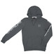 Huf Domestic Hooded Sweat - Gunmetal Thumbnail