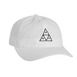 Huf Triple Triangle Curve Dad Hat - White Thumbnail