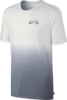 Nike SB Dip Dye T-Shirt - White/Cool Grey Thumbnail