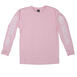 Obey New Times Propaganda Long Sleeve - Pink Thumbnail