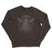 Obey Peace and Justice Crew Sweat - Vintage Black Thumbnail
