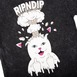 RIP N DIP MIND BLOWN T-SHIRT - BLACK MINERAL WASH Thumbnail