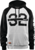 Thirty Two Marquee Hood - White/Black Thumbnail